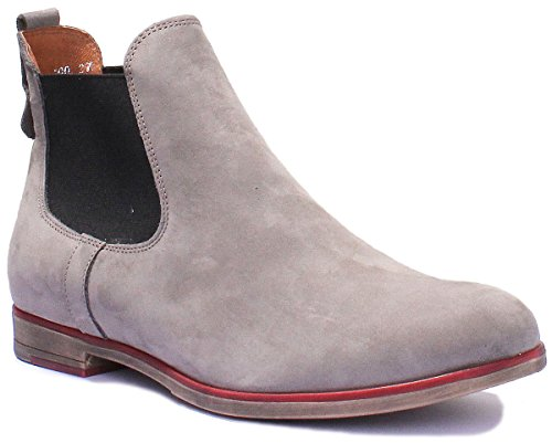 Boots Grigio 5800 Justin Donna Chelsea Reece q61xCwtR