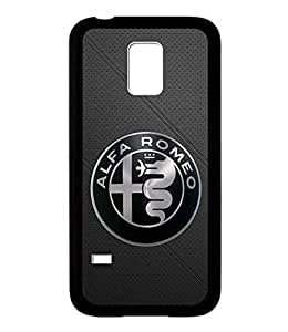 Alfa Romeo Logo Samsung Galaxy S5 Mini Funda Carcasa Case Anti slip Tough Back Funda Carcasa Case Shell