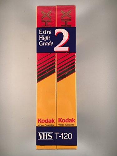 Kodak Extra High Grade 2 pack video cassette T-120