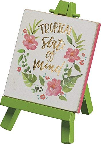 Primitives by Kathy Mini Easel Tropical State Of Mind Home Decor [並行輸入品]   B07TBT9B1L