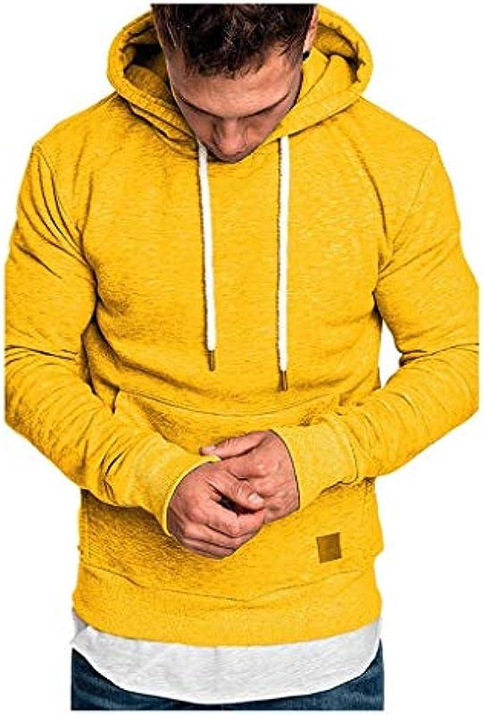 95sCloud męska bluza z kapturem, sweter z kapturem, z długim rękawem, bluza z kapturem, z kieszeniami Streetwear, bluza z kapturem, bluza z kapturem, bluza z długim rękawem: Sport & Freizeit