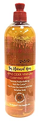 Creme Of Nature Argan Oil Apple Cider Vinegar Rinse 15.5 Ounce (460ml)