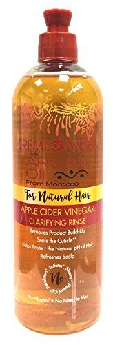 Creme Of Nature Argan Oil Apple Cider Vinegar Rinse 15.5 Ounce (460ml) (Scalp Creme)