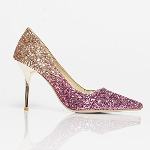 49272899 Zapatos de Tacón Alto con Zapatos de Cristal Re - masbell.es