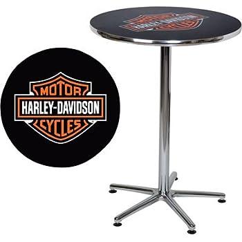 Amazon Com Harley Davidson Bar Amp Shield Logo Round Cafe