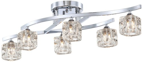 Ice Cube Pendant Light Fixture in US - 7