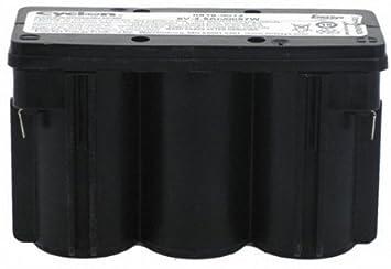 CLICFITNESS - Bateria eliptica 6v 2,5 amp life fitness