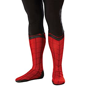 Rubies Spider-Man Adult Boot Tops- 41QAKgQGvxL