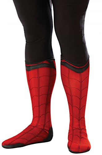 - 41QAKgQGvxL - Rubies Spider-Man Adult Boot Tops-