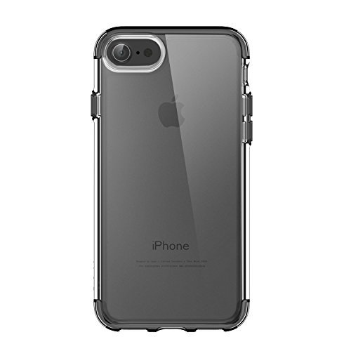 iPhone 7 Case, Anker SlimShell Protective Clear Case for iPhone 7 (Black)