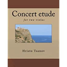 Concert Etude for Two Violas