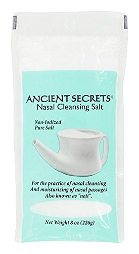 Nasal Cleansing Salts, 8 Ounce