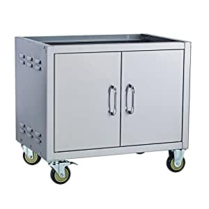 Bull Outdoor Products 73008 Liquid Propane Commercial Griddle Cart
