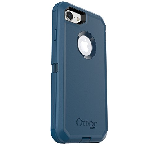 OtterBox DEFENDER SERIES Case for iPhone 8 & iPhone 7 (NOT Plus) - Frustration Free Packaging - BESPOKE WAY (BLAZER BLUE/STORMY SEAS BLUE)