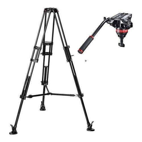 Manfrotto MVH502A,546BK Video Tripod System with Mvh502A Head, 546 Tripod and Tripod Bag by Manfrotto
