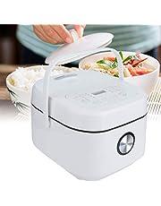 Desugar Intelligent 3L Vierkante rijstkoker met korrel, voor levensmiddelen, huishoudelijke apparaten, 25 x 32 x 21 cm (EU-stekker)