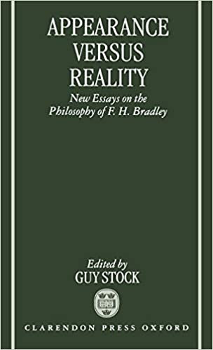 The Yellow Wallpaper Essays Appearance Versus Reality New Essays On Bradleys Metaphysics Mind  Association Occasional Series St Edition Essay On Science also Essay Samples For High School Amazoncom Appearance Versus Reality New Essays On Bradleys  Business Plan Writer For Mac