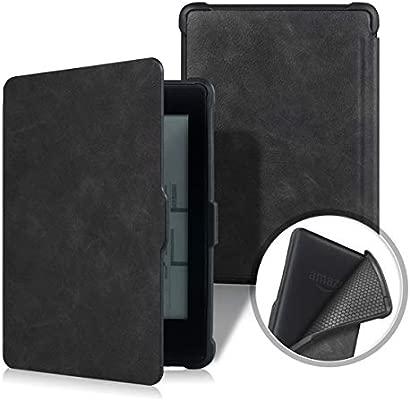 Pinhen Slimshell - Funda para Kindle Paperwhite (Piel, función de ...