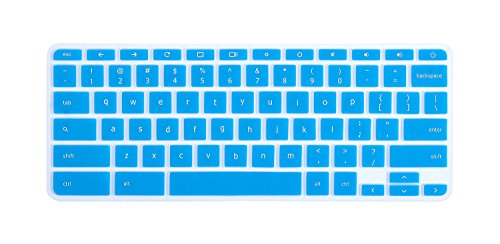 CaseBuy-Ultra-Thin-Keyboard-Cover-for-ASUS-Chromebook-Flip-C302-C302CA-DHM4-125-inch-Chromebook-Blue