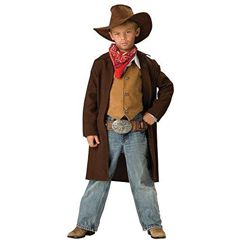 Rawhide Renegade Costume - Large - Wyatt Earp Fancy Dress Costumes