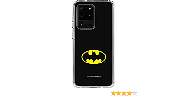 Official Batman DC Comics Bat Signal Logos Leather Book Wallet Case Cover Compatible For Samsung Galaxy S20 S20 5G