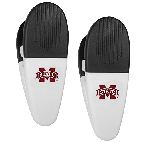 NCAA Mississippi State Bulldogs Mini Chip Clip Magnets, Set of 2