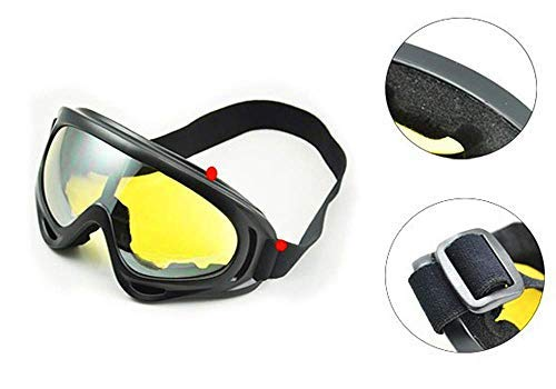 Dplus Motorcycle Goggles - Glasses Set of 5 - Dirt Bike ATV Motocross Anti-UV Adjustable Riding Offroad Protective Combat Tactical Military Goggles for Men Women Kids Youth Adult by Dplus (Image #3)