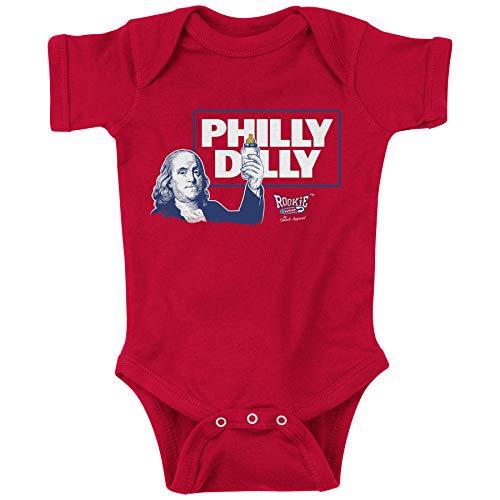 Rookie Wear by Smack Apparel Philadelphia Baseball Fans. Philly Dilly Onesie (NB-18M) Toddler Tee (2T-4T) (Onesie, NB) ()