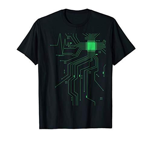 Computer CPU Core Heartbeat Programming Coding T-Shirt (Best Cpu For Programming)