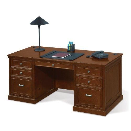chestnut-cherry-compact-executive-desk-nbf-signature-series-statesman-collection