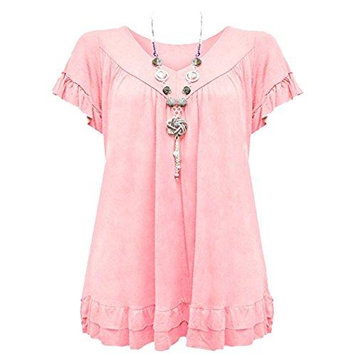 Camicia Baby Pink Diva donna Urban f5Z1wPqn1
