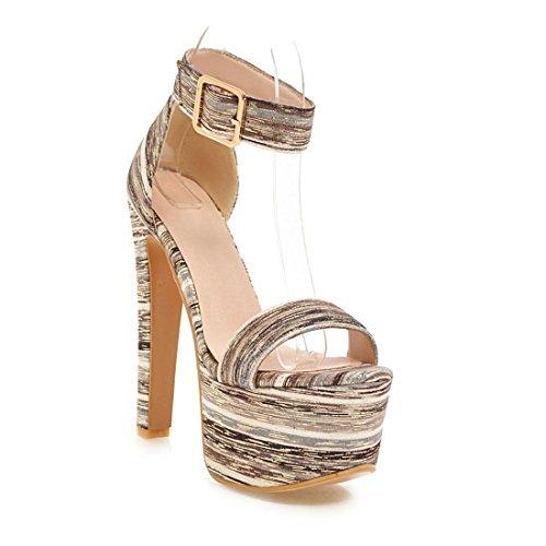 tacchi sexy sandali black i dei e sandali i piedi a 40 spillo sandali i sandali 6 dita signore HF8q0