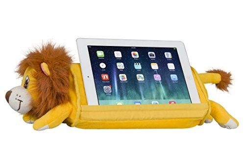 - LapGear Lap Pets Tablet Pillow/Tablet Stand - Lion (Fits up to 10.9
