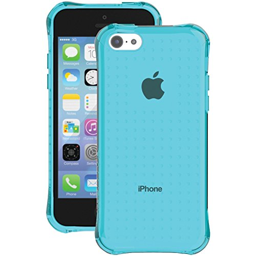 Ballistic iPhone 5c Jewel Case - Retail Packaging - translucent Topaz (Ballistic 5c Jewel)