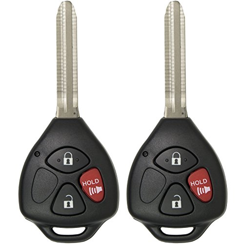 Keyless2Go New Keyless Entry Remote Car Key for Vehicles That Use HYQ12BBY with 4D67 Chip (2 - 2009 Chip