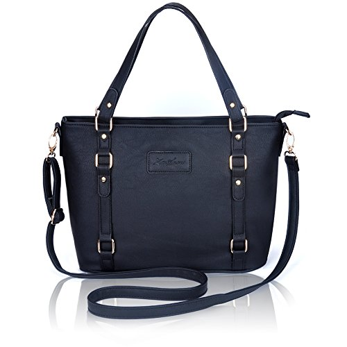 Crossbody Bags for Women,ZMSnow PU Leather Fashion Satchel Shoulder Handbags with Golden Hardware