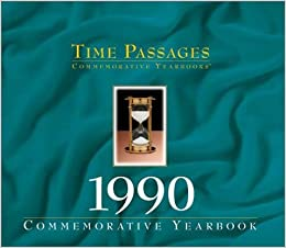 Book Time Passages 1990 Yearbook