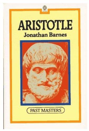 Aristotle (Past Masters)