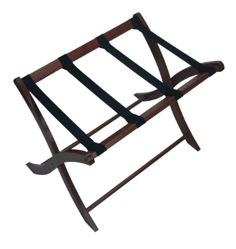 Winsome Wood Luggage Rack, Walnut