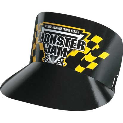 Monster Visor - Monster Jam Visors 6ct
