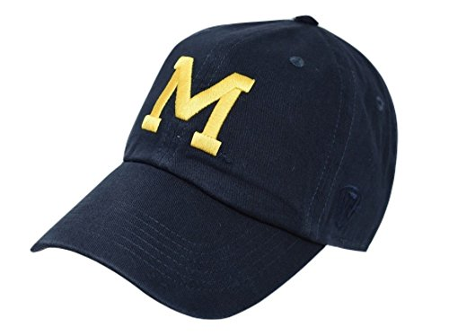 - Top of the World Michigan Wolverines Men's Vintage Hat Vault Icon, Navy, Adjustable