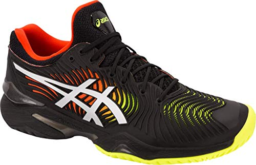 ASICS Court FF 2 Men's Running Shoe, Black/White, 11 M US