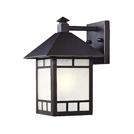 Acclaim 9002ABZ Artisan Collection 1-Light Wall Mount Outdoor ...