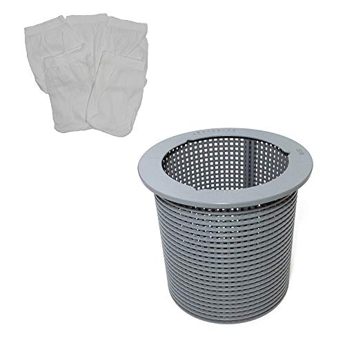 CMP B-37 Pool Skimmer Basket Plus Filter Saver Sock Sleeve for American -