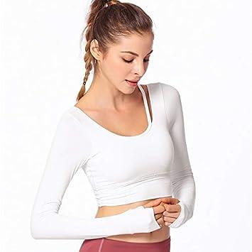 GMZLL Sujetador de secado rápido de moda Mujeres Yoga ...