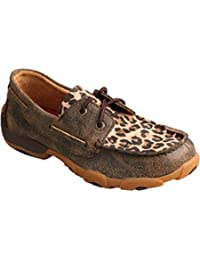 Twisted X Boots Unisex Children's YDM0028 Boat Shoe