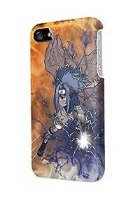 i40860 Naruto Uzumaki vs Sasuke Uchiha Glossy Case Cover For Iphone 4/4S by runtopwell