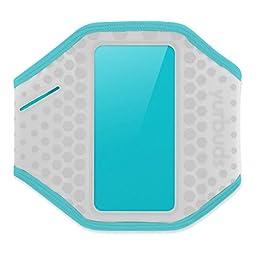 Yurbuds (CE) Ergosport Armband for Universal Smartphones, Gray/Aqua