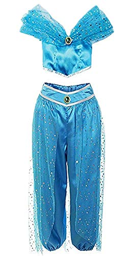Asian Indian Princess Costumes - Women's Princess Jasmine Costume Belly Dance