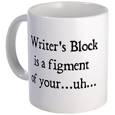 CafePress - writer's block Mug - Unique Coffee Mug, 11oz Coffee Cup